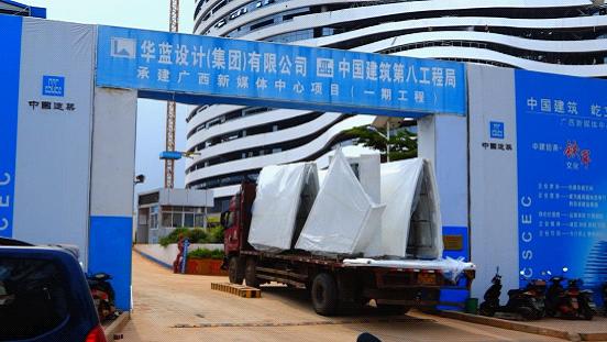 助力南宁新地标 青龙防水打造广西新媒体中心