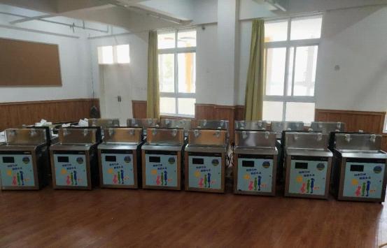河南沈丘实验幼儿园选择碧丽饮水设备